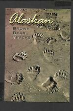 Colour Postcard Portrait Alaskan Brown Bear Tracks unposted