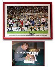 ENGLAND Peter Shilton SIGNED Photo Memorabilia + COA Nottingham Forest Proof