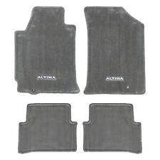 2009-2012 Nissan Altima Sedan Frost Gray Carpeted Floor Mats Front Rear OEM NEW