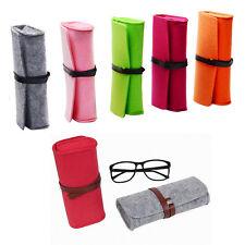 976a83e664ef Felt Eyewear Pouch Sunglass Eyeglasses Glasses Carry Case Sleeve Makeup Bag  TM