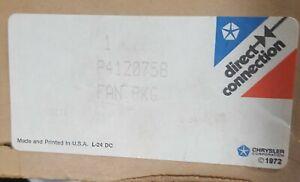 1962-76 Mopar Factory Viscous Fan Package NOS, in box