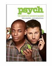 Psych Complete 7th Seventh Season 7 Seven Series TV DVD Set Tv Show Episodes Vol