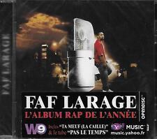 CD Album: Faf Larage: Rap Stories. Sony. A3
