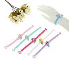 Colorful Mermaid Silicone Bracelet For Child Baby Birthday Shower Party Gift*