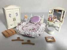 New ListingCalico critters/sylvanian families Girls Lavender Bedroom Furniture Vanity