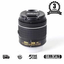 BRAND NEW Nikon Nikkor AF-P DX 18-55mm F/3.5-5.6G VR Lens UK NEXT DAY DELIVERY