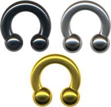 Hufeisen 3-8mm Horseshoe Intim Ring Kugel PRINZ ALBERT Piercing PA Intimpiercing