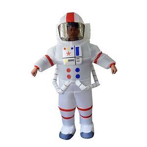 Inflatable Adult Astronaut Space Suit Costume; Unisex; Halloween; Cosplay