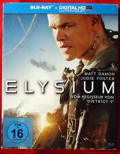 Elysium - Matt Damon / Jodie Foster - Blu-ray - 2013