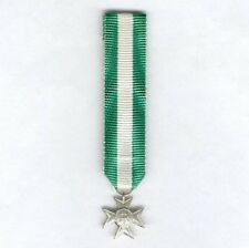 ITALY. Miniature Cross for Long Military Service, 16 years' service, since 1949