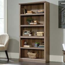 SAUDER Salt-Finish Noomi 5 Shelf Bookcase