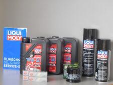 Sistema de mantenimiento HONDA CBR 600RR Filtro aceite bujía Servicio Inspección