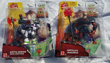 Toy Story That Time Forgot Buzz Lightyear & Reptillus Maximus Figures 2014 New