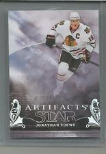 2010-11 UD Artifacts Star #158  Jonathan Toews silver 4/25 Chicago Black Hawks