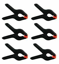 6 Pack 4 Inch Spring Clamps Plastic Muslin Clamps