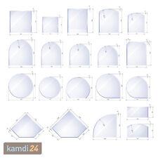 Kamin Glasplatte Glasbodenplatte Funkenschutzplatte Bodenplatte Ofen Platte Glas