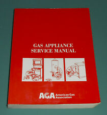AGA Gas Appliance Service Manual DRYERS WATER HEATER XH0975 Repair Illustrated