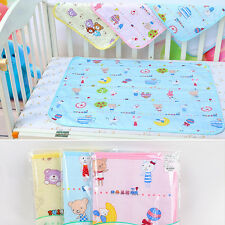 Waterproof Changin Diaper Pad Cotton Washable Baby Infant Urine Mat Nappy Bed_GG Yellow