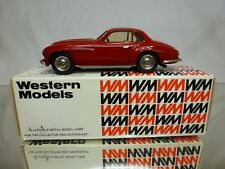 WESTERN MODELS WMS54 KIT (built) ALFA ROMEO VILLA D'ESTE COUPE 1950 - RED 1:43