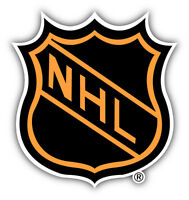 NHL Hockey Logo Car Bumper Sticker Decal 5'' x 5''