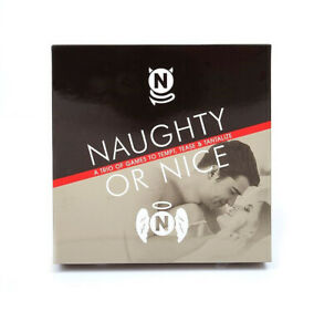 Naughty or Nice - Three Sexy Games for Couples - Romantic and Sexy Fun