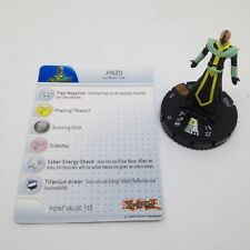 Heroclix Yu-Gi-Oh! Series 2 set Jinzo #100 Limited Edition figure w/card!