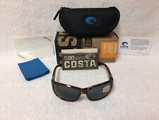175ec9b444a1 NEW Costa Del Mar Inlet Polarized Sunglasses Tortoise Gray 580P IT 10 OGP  580