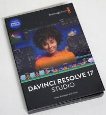 BLACKMAGIC DESIGN DAVINCI RESOLVE 17 STUDIO SOFTWARE + DONGLE FÜR PC/MAC/LINUX