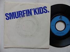 Smurfin kids Disque pub K WAY   PROMO MONO FACE 1112