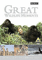 Great Wildlife Moments Introduced by David Attenborough [DVD], DVDs