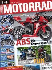 M0814 + Gebrauchtkauf YAMAHA XT 660 R/X + MOTORRAD 14/2008