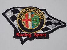 MOTORSPORTS MOTOR RACING SEW ON / IRON ON PATCH:- ALFA-ROMEO (a) RACING SPORT