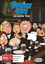 Family Guy : Season 10 (DVD, 2011, 3-Disc Set) with Bonus Disc