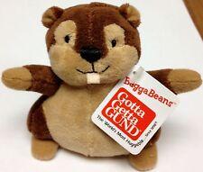 Gund Bagga Beans Squirrel Small Beanie Plush Toy Stuffed Animal