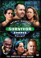 Survivor Borneo The Complete Season 0097368779044 DVD Region 1