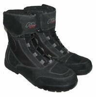""""""" POLO """" Herren- Schnürstiefel / Biker- Boots / Stiefel in schwarz ca. Gr. 44,5"""