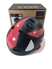 TSG Superlight Satin Black Helmet CUSTOM SHADOW THE HEDGEHOG - S/M (54-56 cm)