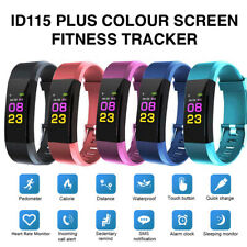 ID115 Plus Pro Colour Activity Fitness Tracker Smart Watch Pedometer Wristband
