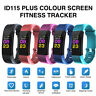 Pro Colour Activity Fitness Tracker Smart Watch FITBIT HR Pedometer Wristband