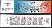 1989 FRANCIA LIBRETTO PERSONAGGI CELEBRI RIVOLUZIONE FRANCESE MNH ** - CZ10