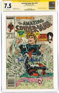 The Amazing Spider-Man #315 (May 1989, Marvel Comics) CGC 7.5 VF-   Signature Se