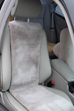 Sheepskin Seat Covers (Inserts)-High Quality-Black or Grey-ONE PAIR