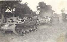 WWII German RP- Luftwaffe Markings- Captured French Tank- Tankette- Aug 1940