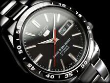 New!! SEIKO 5 Automatic Dial Watch SNKE03K1 / SNKE03KC Black International Model