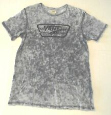 a4201cdee VANS OFF THE WALL Gray ladies Large Graphic Skatewear T-Shirt (p)