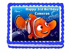 Finding Nemo edible cake image topper party decoration - personalized free!
