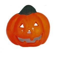1-Pumpkin Tea Light Holder~S-O-O~C-O-O-L~Big Orange Pumpkin Burns T-Lite Candle