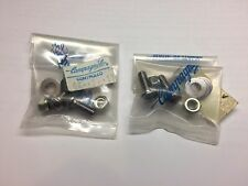 Campagnolo Super Nuovo Record Bicycle Pedal Toe Clips Cages Hardware Set NOS!