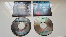 "CREED ""HIGHER + WHAT'S THIS LIFE FOR""- LOT OF 2 CD SINGLES / STAPP - TREMONTI"