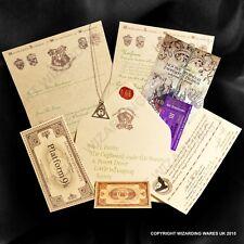Acceptance Letter 2015Harry Potter Hogwarts, Deathly Hallows Pendant + Marauders